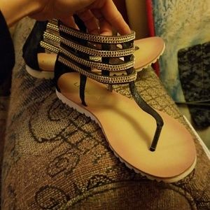 Gladiator sandal from BLUSH Boutique